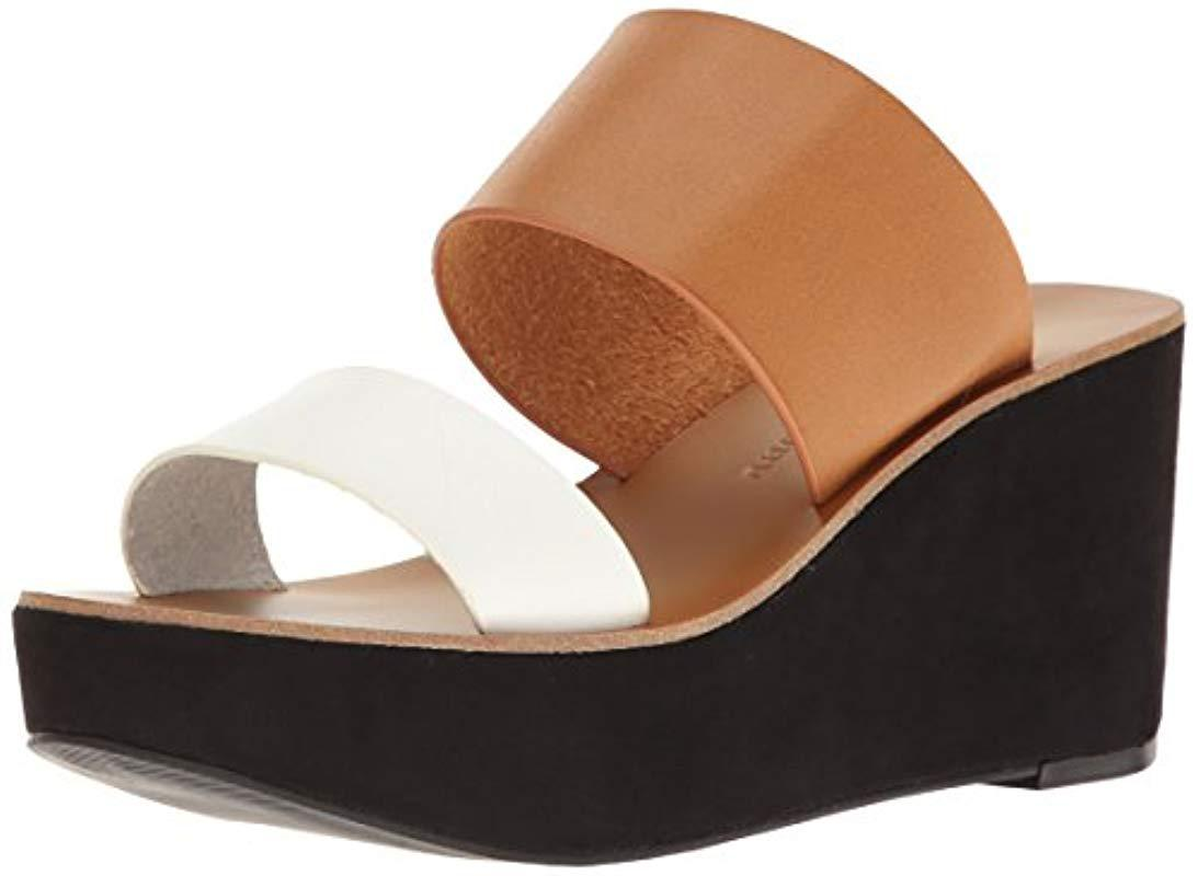 7f0bfc95a45 Lyst - Chinese Laundry Ollie Wedge Slide Sandal - Save 21%