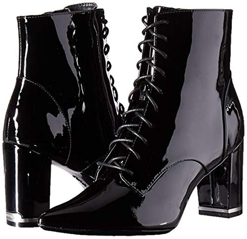 Calvin Klein Esma Ankle Boot in Black