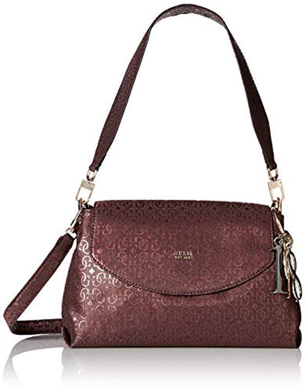 d1c63063c264 Guess. Women s Tamra Metallic Shoulder Bag