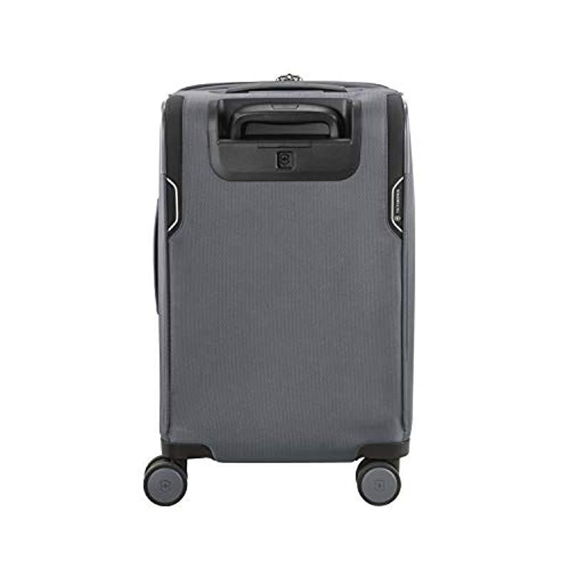 d7c17b39c Victorinox - Gray Werks Traveler 6.0 Frequent Flyer Softside Carry-on  Spinner for Men -. View fullscreen