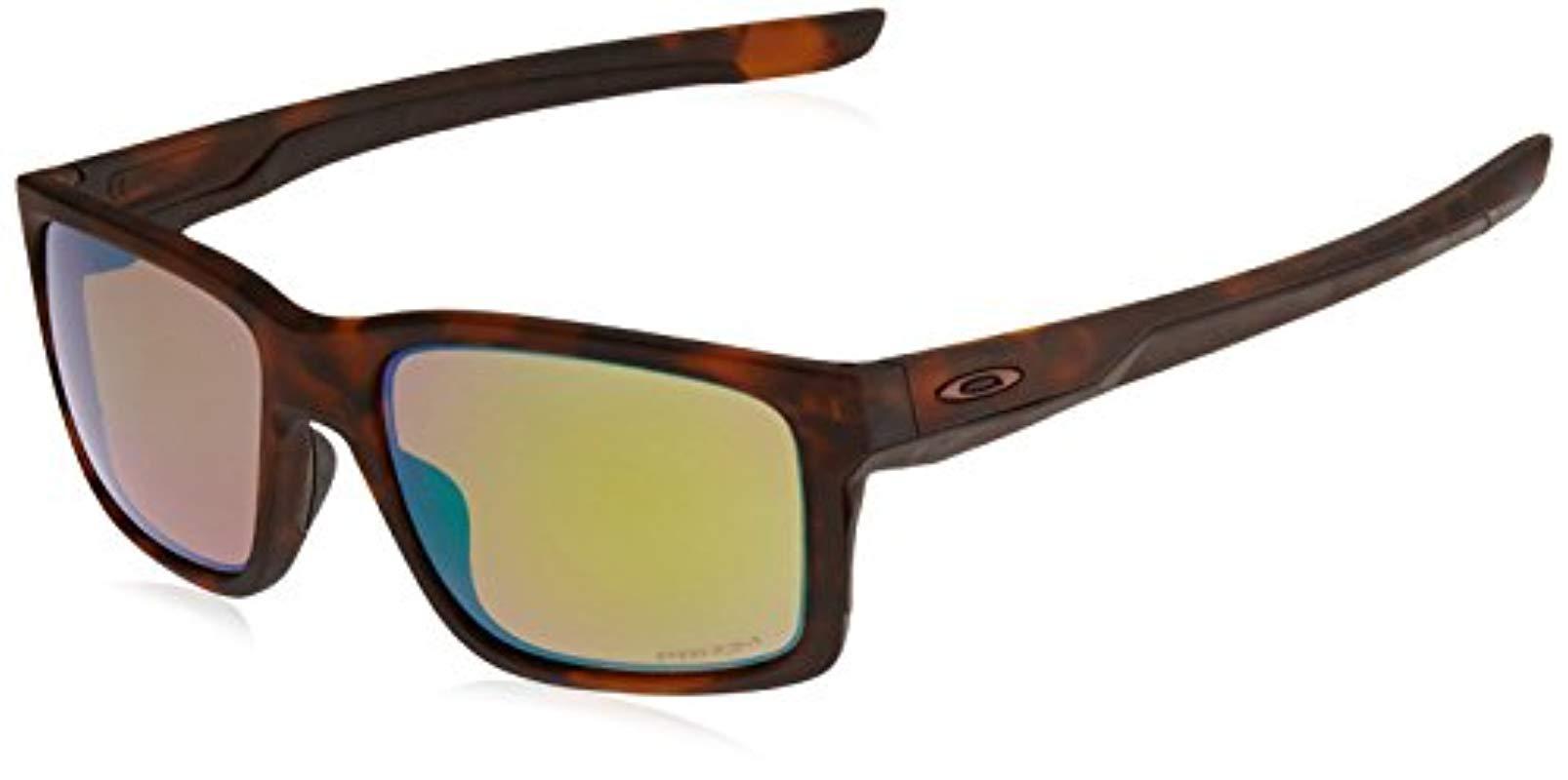 211013ae469 Oakley - Brown Sliver Polarized Rectangular Sunglasses - Lyst. View  fullscreen