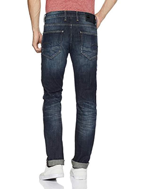 e817414ea2c166 G-Star RAW G-star Revend Straight Jeans in Blue for Men - Lyst