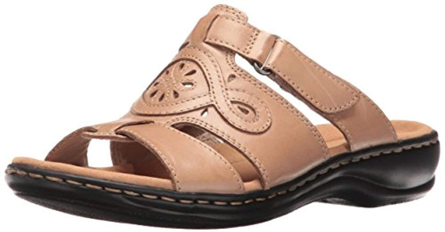 973f427b13f Lyst - Clarks Leisa Higley Slide Sandal - Save 81%