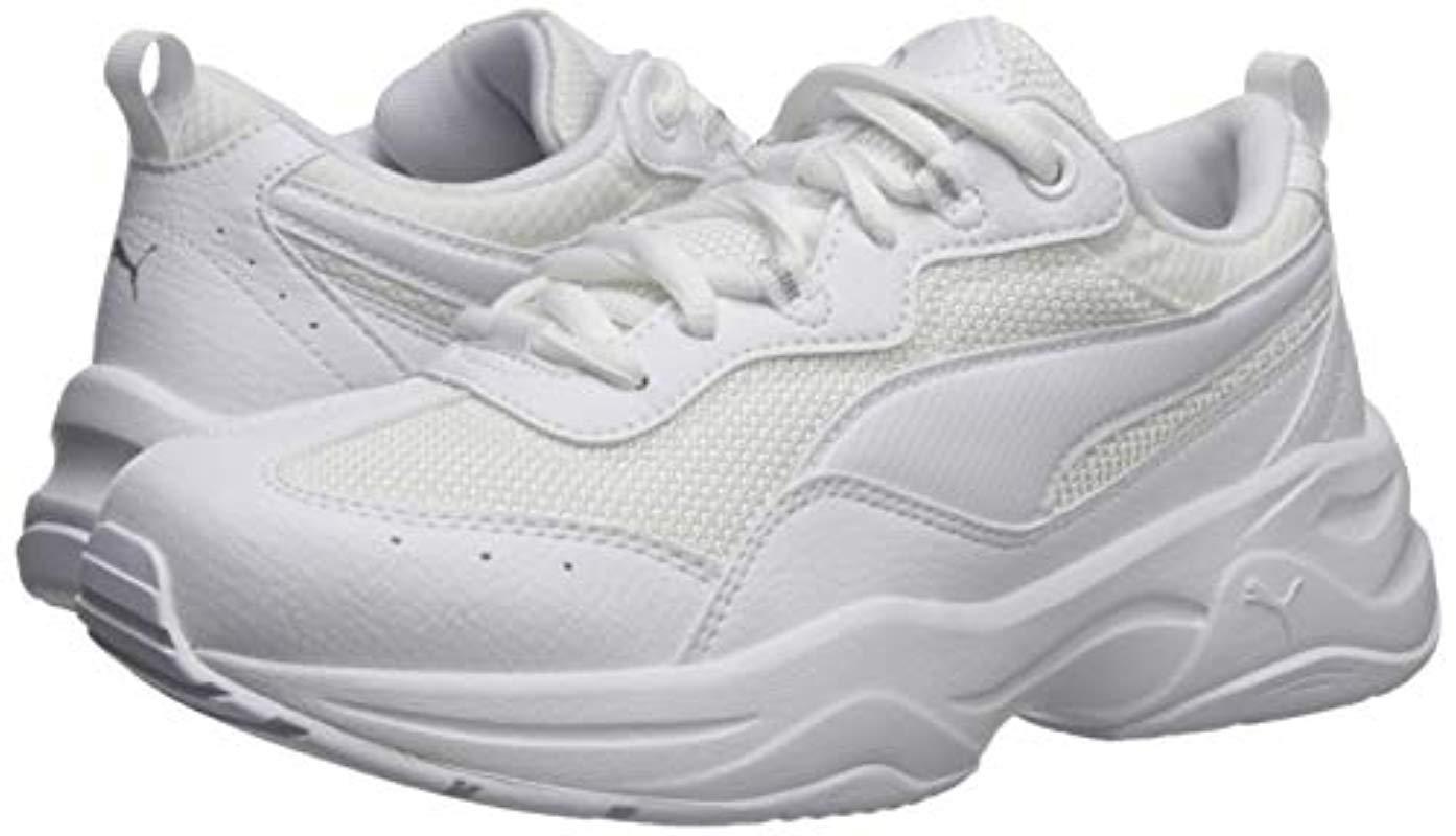 Cilia Sneaker White-gray Violet Silver, 7.5 M Us