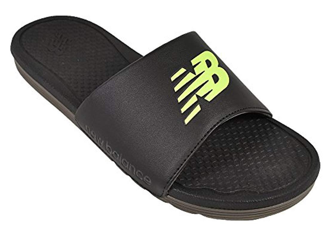 5b3c57e4ae92 Lyst - New Balance Nb Pro Slide Sandal in Black for Men