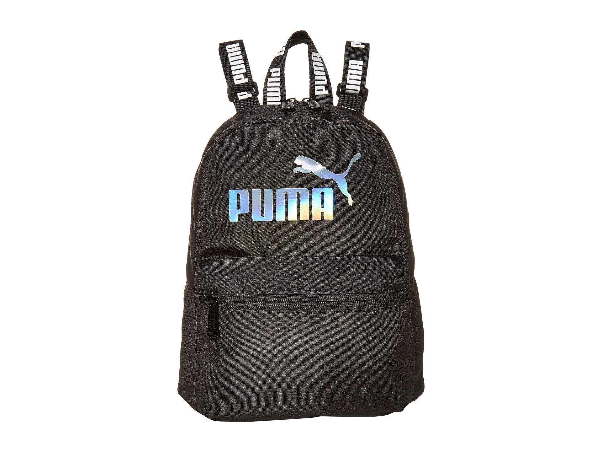 PUMA Mini Backpack in Black - Lyst