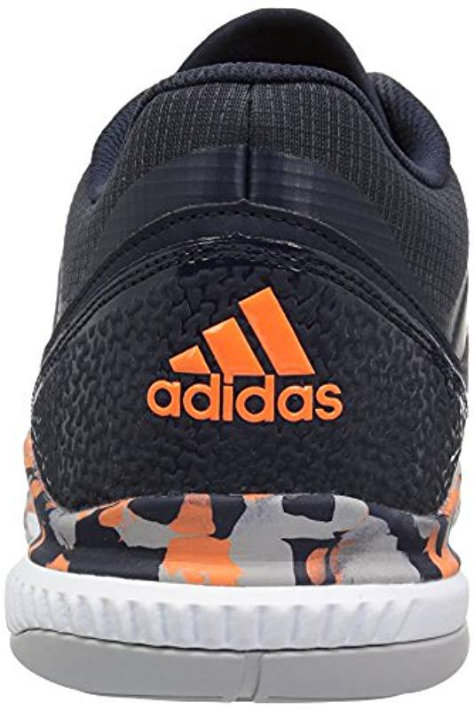 wholesale dealer 844c0 f9c02 Adidas - Gray Crazyflight Bounce Volleyball Shoe for Men - Lyst. View  fullscreen
