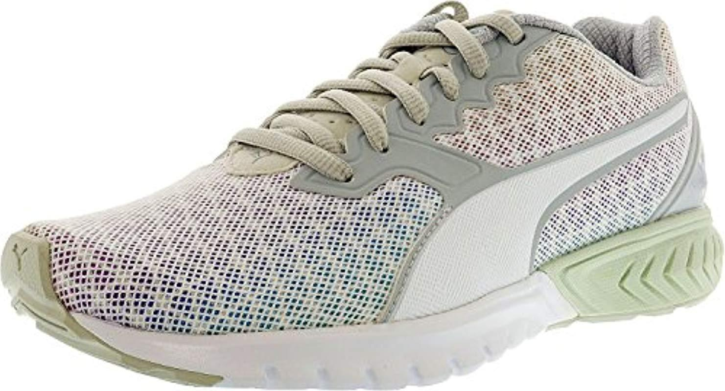 db9ea37939cc Lyst - PUMA Ignite Dual Prism Wn s Running Shoe in White
