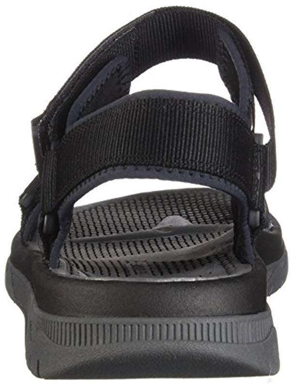 12803f919dceed Lyst - Clarks Balta Reef Sandal in Black for Men - Save 13%