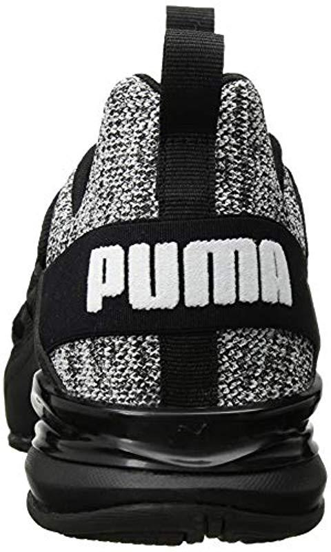 a671f8202aa PUMA - Black Axelion Sneakers for Men - Lyst. View fullscreen