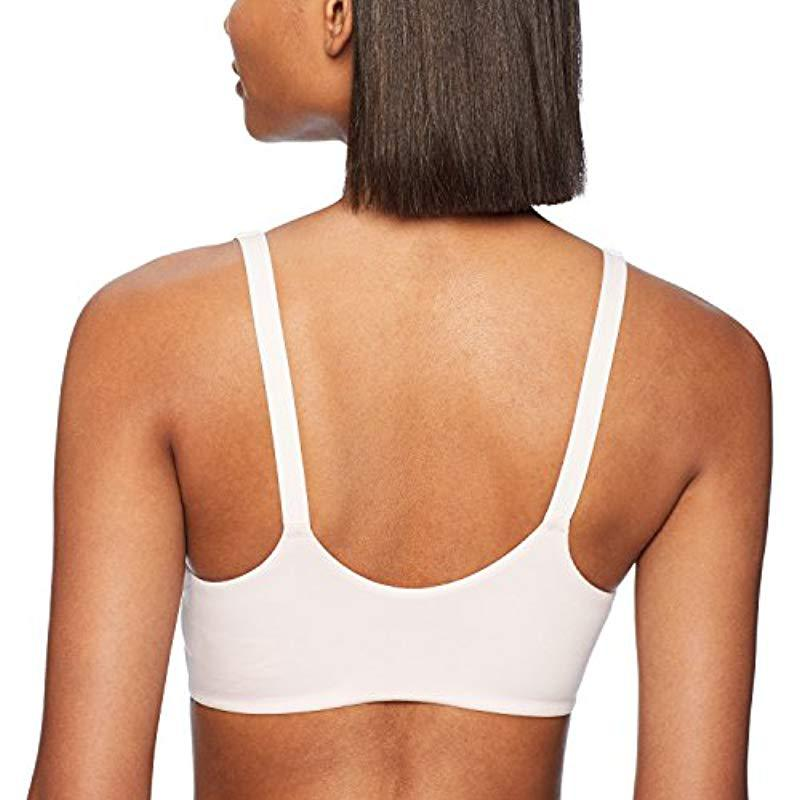 2065f3a487 Calvin Klein - White Perfectly Fit Line Extension-lounge Bra Bralette -  Lyst. View fullscreen