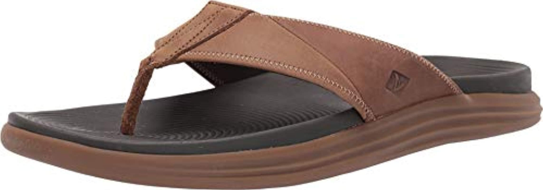 592213ba284 Lyst - Sperry Top-Sider Coil Ivy Perf Boat Shoe Black in Brown for Men