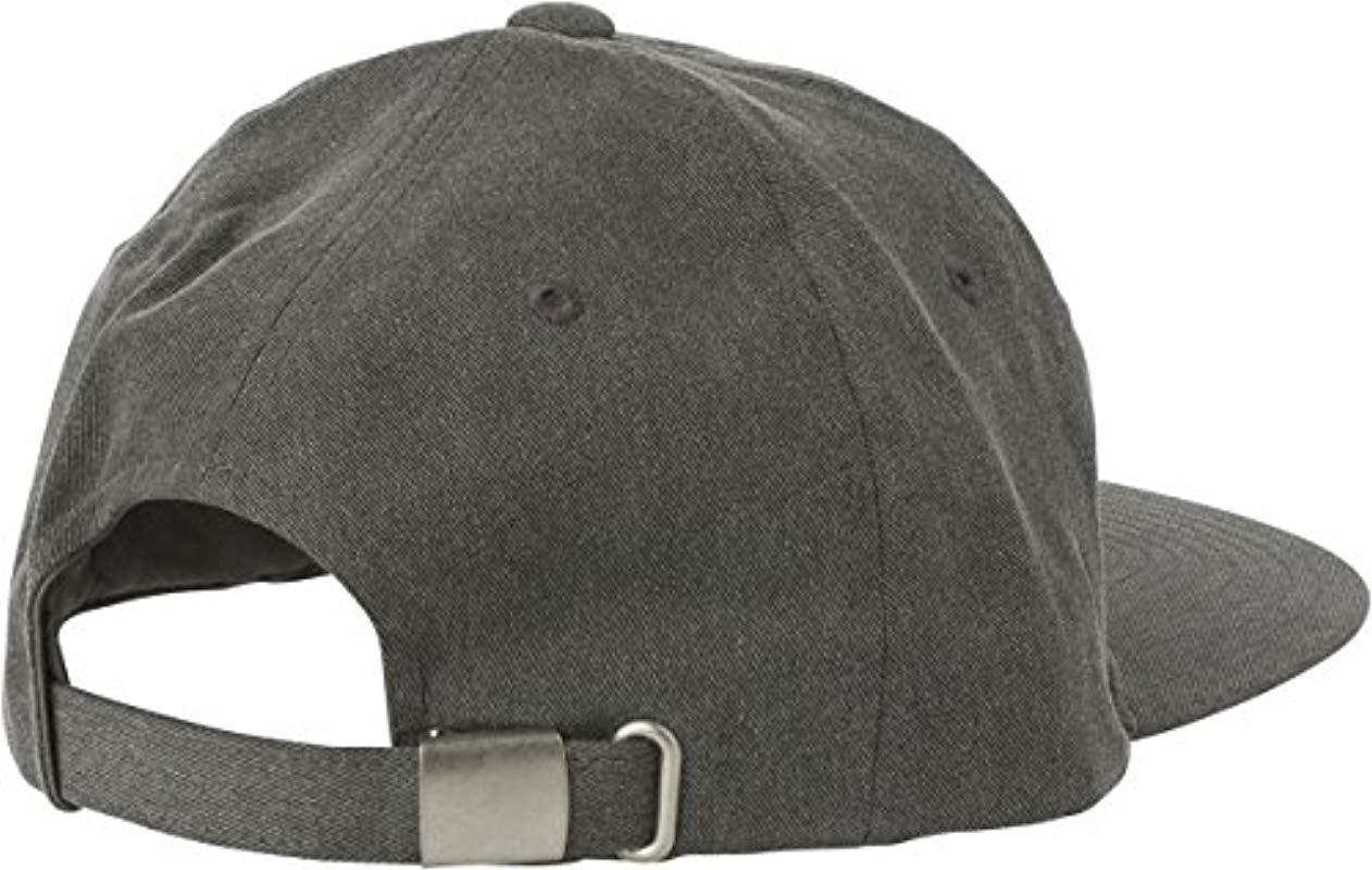 Lyst - Rvca Tonally Low Cap in Black for Men - Save 64.28571428571428% ffb725989369