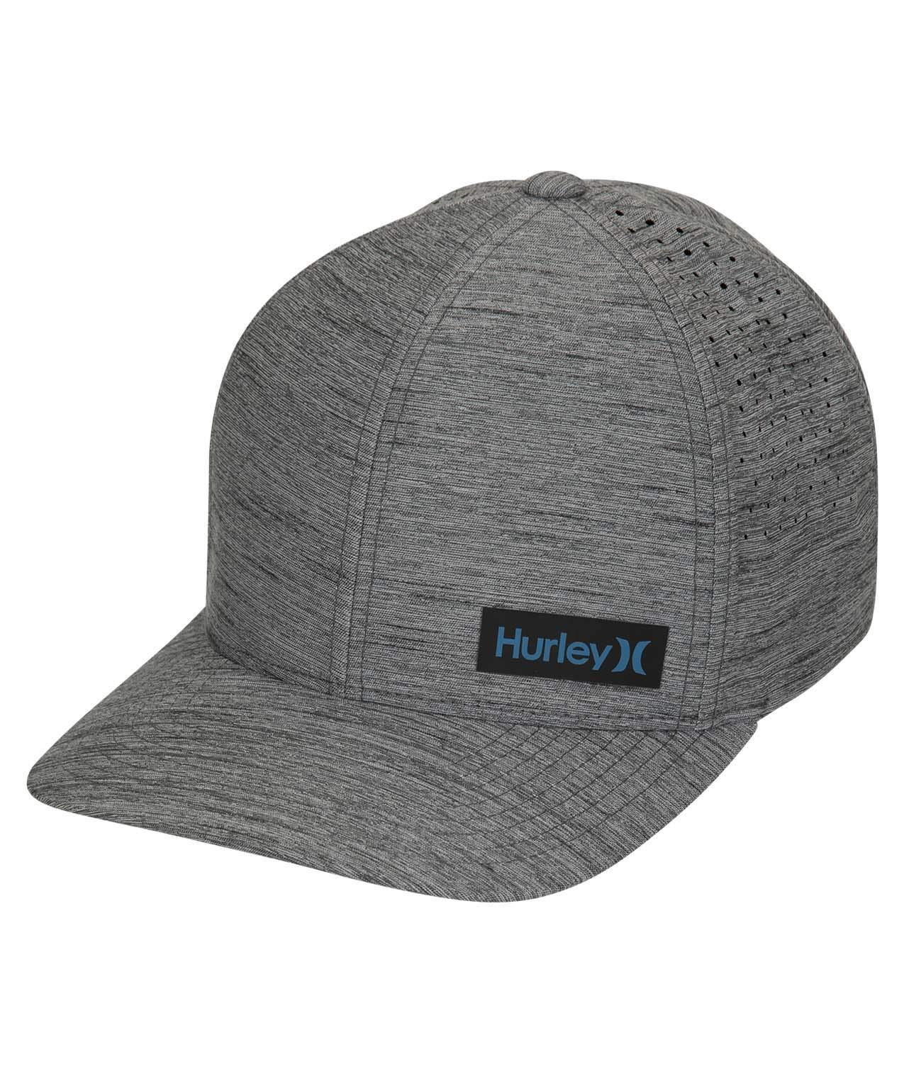 Hurley Dri-Fit Marwick Elite Chapeau-Foncé Gris Fumée-Nouveau