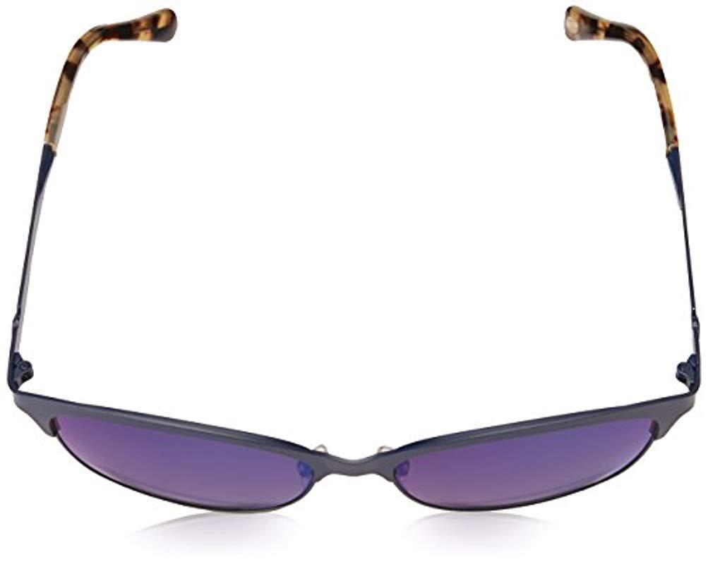 eeea88d4db8 Fossil - Fos 2078 s Square Sunglasses Mtt Blue 55 Mm - Lyst. View fullscreen