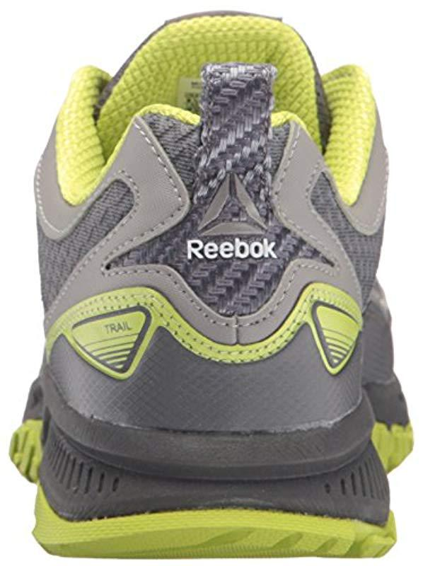 52ab345cde6f67 Reebok - Gray Ridgerider Trail 2.0 Running Shoe for Men - Lyst. View  fullscreen