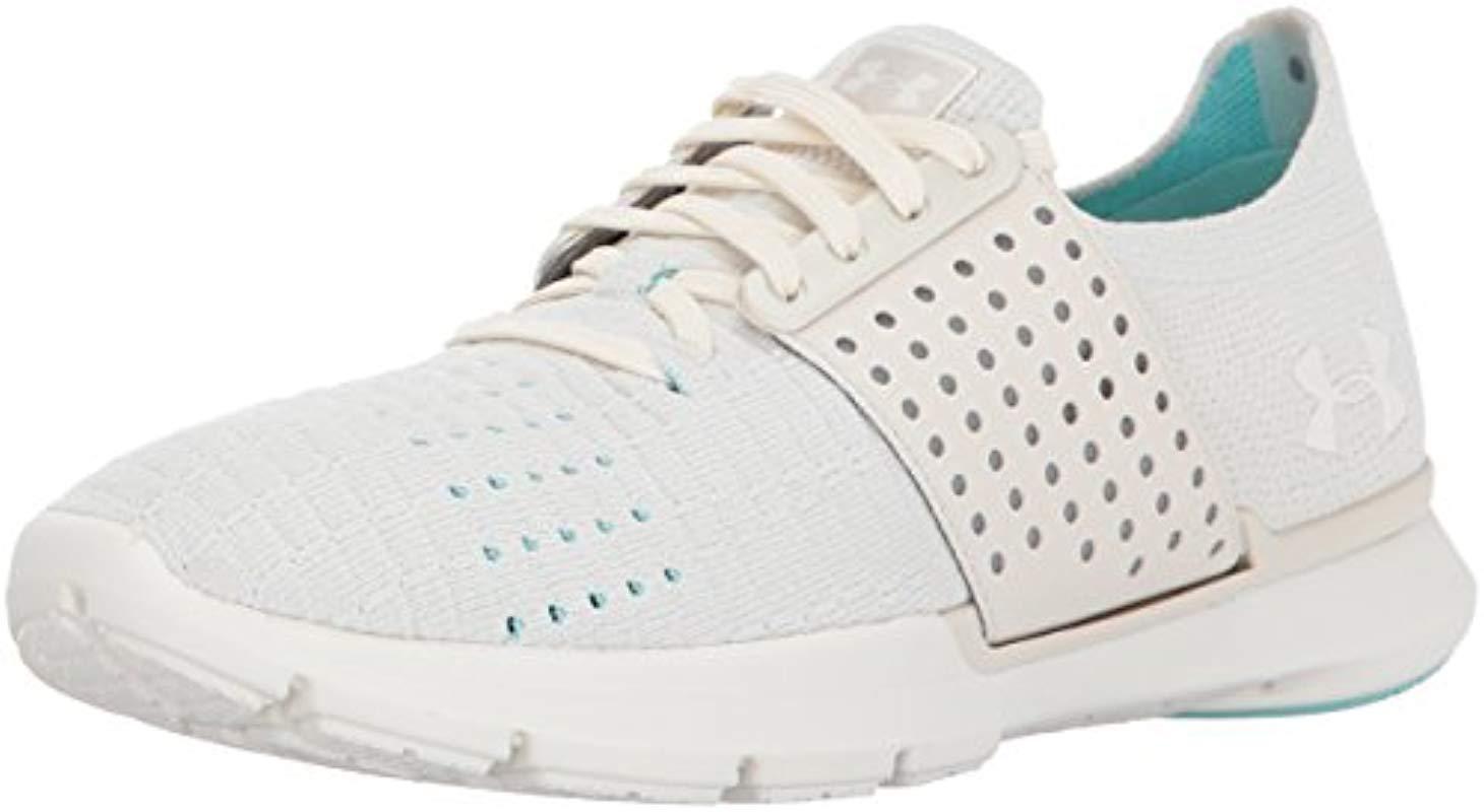 hot sale online 2d41c 60c4a Women's White Speedform Slingwrap Sneaker, Stone (279)/ivory, 10
