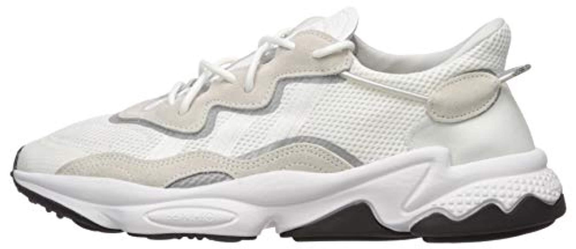 Ozweego Sneaker, Ftwr White/ftwr White/core Black, 8 M Us