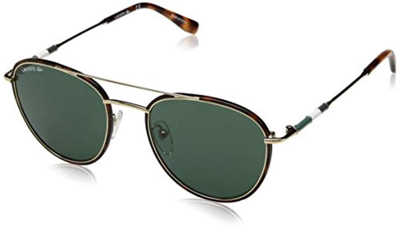 Lacoste L102snd Metal Oval Novak Djokovic Capsule Collection Sunglasses Golden Beauty 51 Mm For Men Lyst