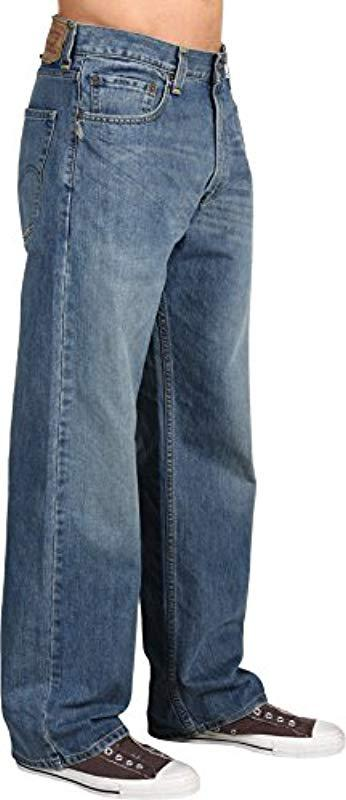 Levi S Leather 569 Loose Straight Jean