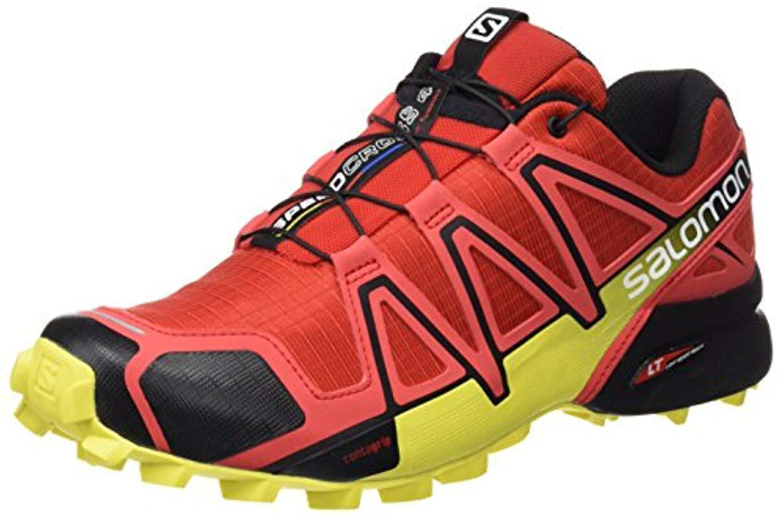 7ff1bf3adb40c Lyst - Yves Salomon Speedcross 4 Trail Running Shoes in Red for Men