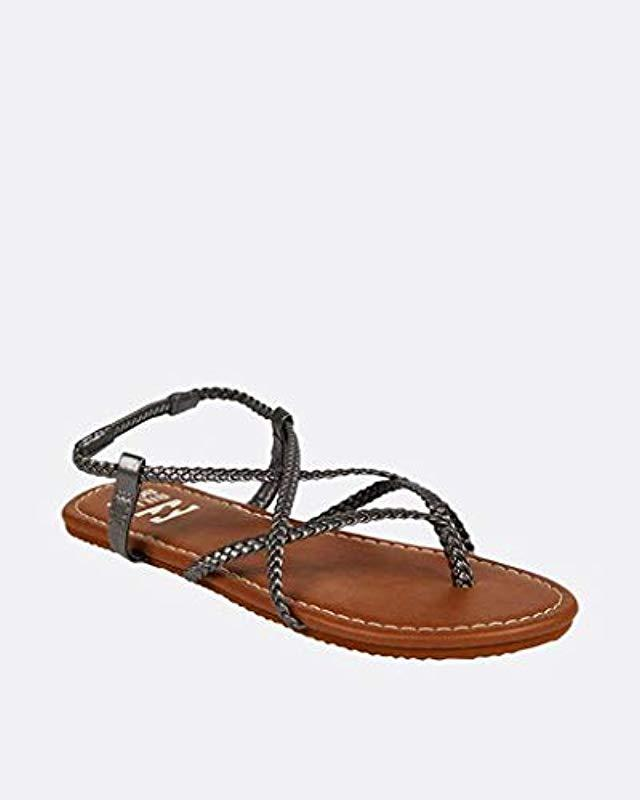 c9d01208a Lyst - Billabong Crossing Over Sandal in Brown - Save 62%