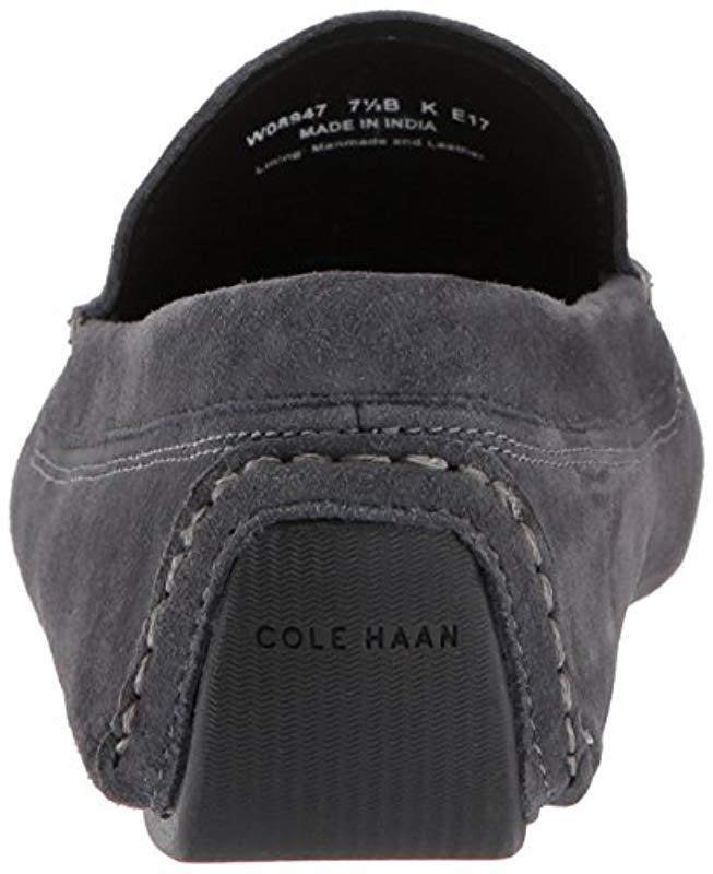 2aba61ad277 Lyst - Cole Haan Rodeo Tassel Driver Loafer in Gray - Save  13.07692307692308%