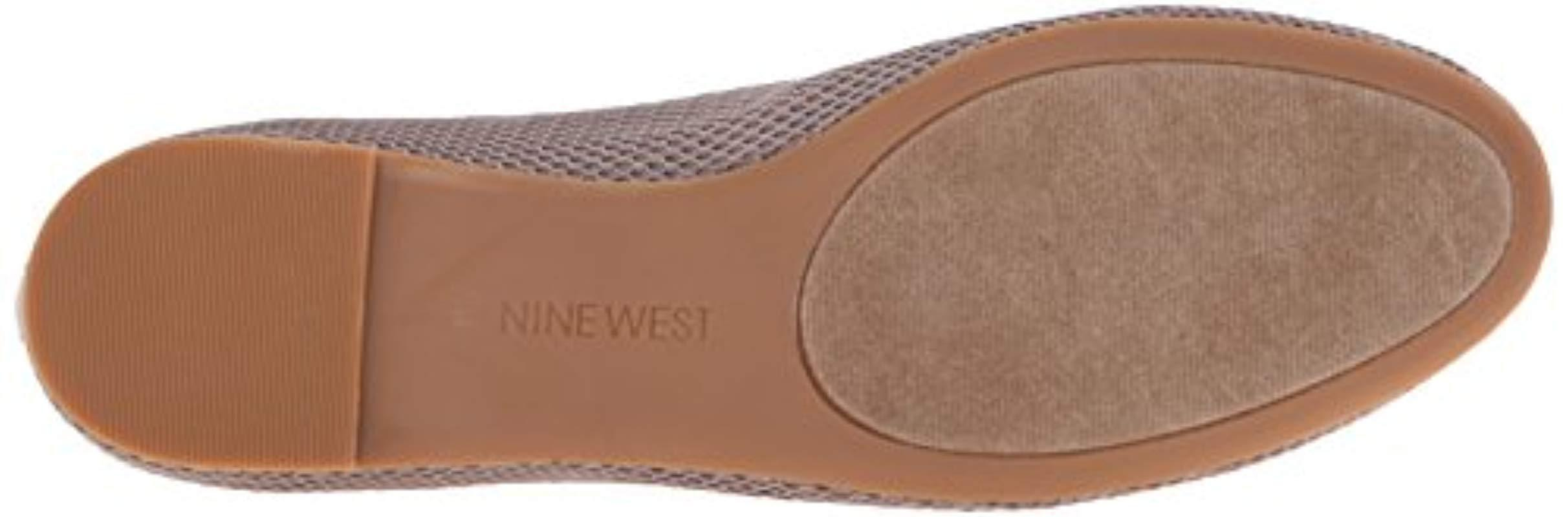 West Save Fabric Gray Flat Nine Lyst Adorabl Ballet In 5xvWR8
