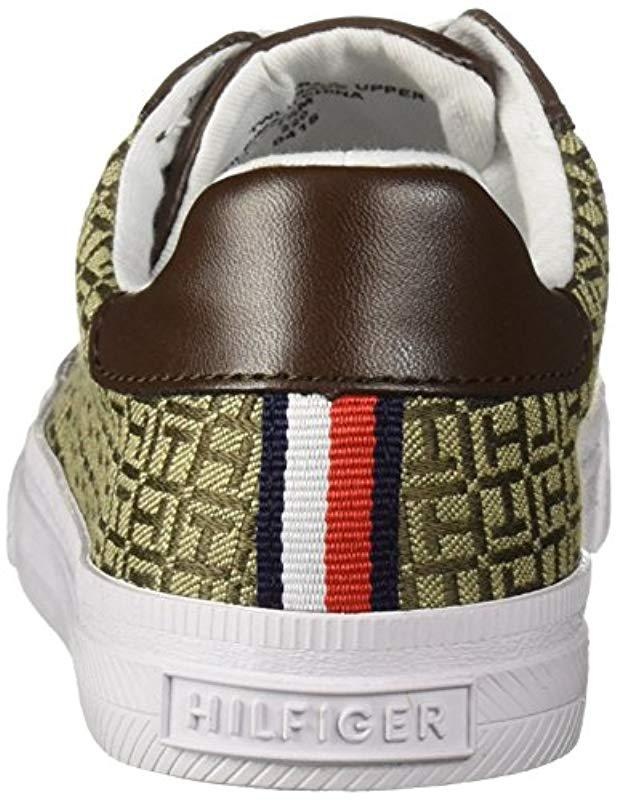d81da4dc0461bf Lyst - Tommy Hilfiger Lirna Sneaker in Brown - Save 18%