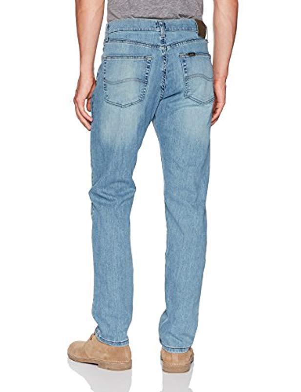 7e2e83df Lyst - Lee Jeans Premium Select Classic-fit Straight-leg Jean in Blue for  Men
