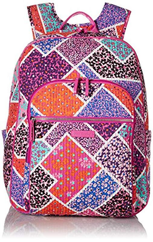 Vera Bradley. Women s Iconic Deluxe Campus Backpack ... 2553492e804f4
