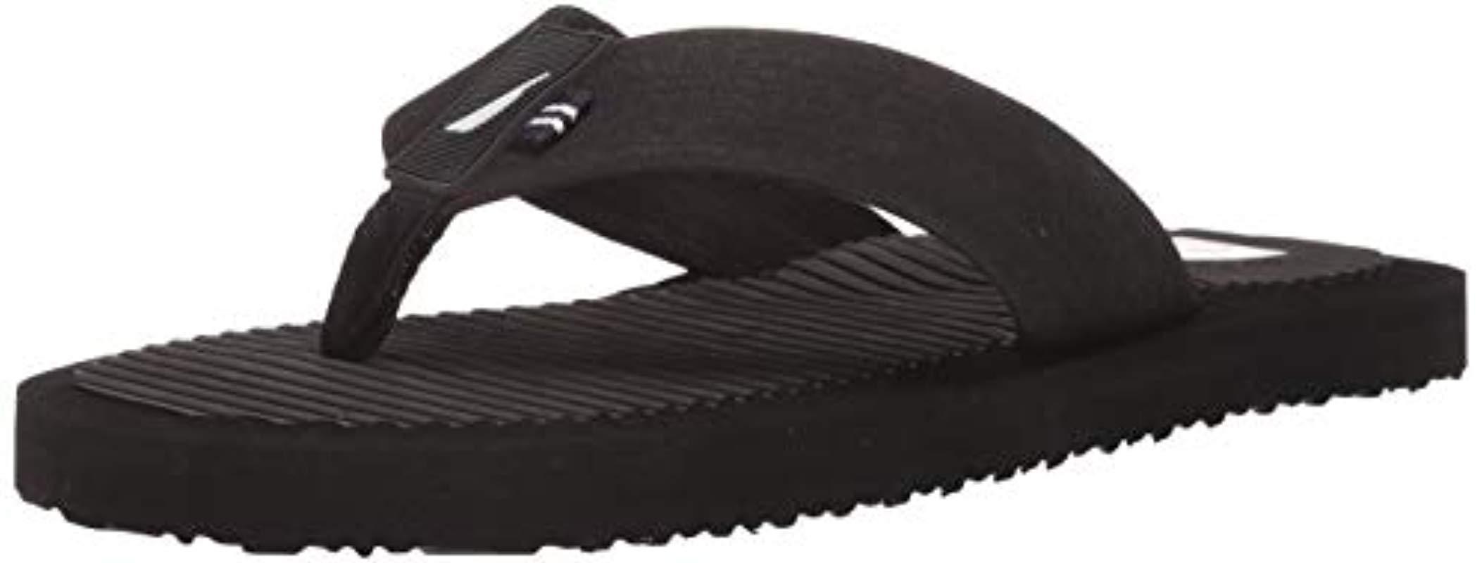 08911ee27d05 Lyst - Nautica Avast 2 Flip-flop in Black for Men