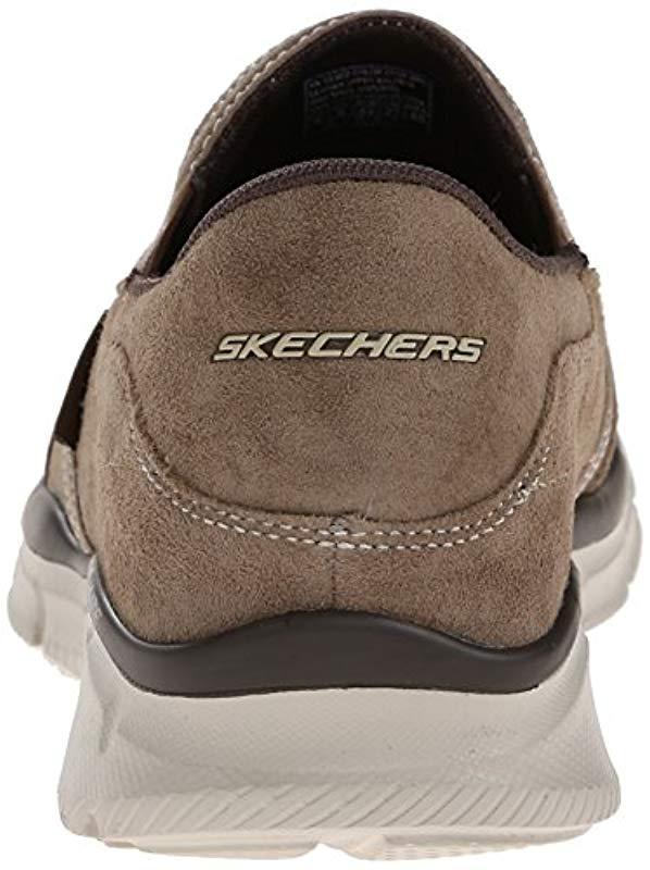 Skechers - Brown Sport Equalizer Mind Game Slip-on Loafer for Men - Lyst.  View fullscreen 92fa104dad