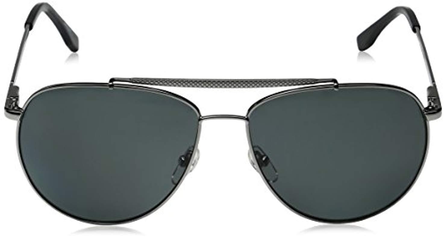 0b808610316 Lacoste - Multicolor L177sp Polarized Aviator Sunglasses for Men - Lyst.  View fullscreen