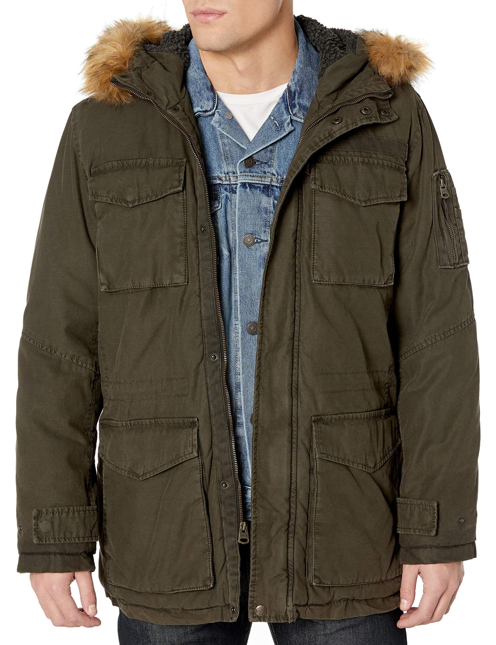 Vintage Hawke /& Company Parka Coat Fleece w//Faux Fur Jacket Winter Coat w//Socks