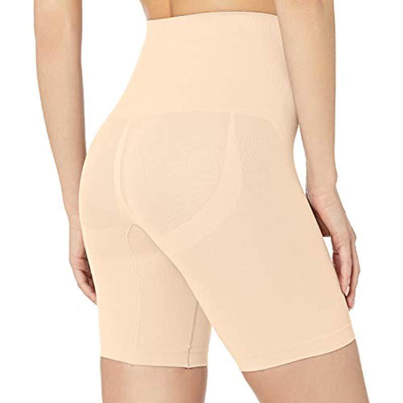 2bf4fc6e1c9 Yummie - Natural Cooling Fx Mid Waist Thigh Shaper Shapewear - Lyst. View  fullscreen