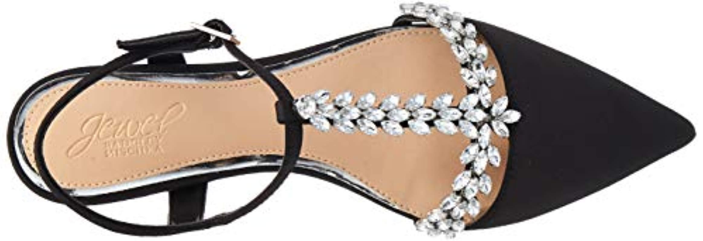 Jewel by Badgley Mischka Womens Rae Ballet Flat