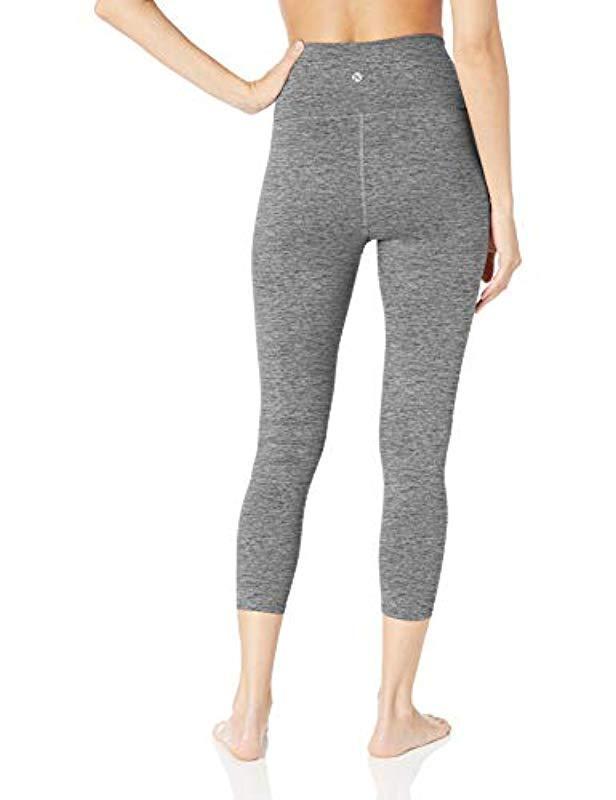 5fbf46b18dc Lyst - Core 10 Amazon Brand - (xs-3x) Corecomfort High Waist Yoga 7 8 Crop  Legging - 24