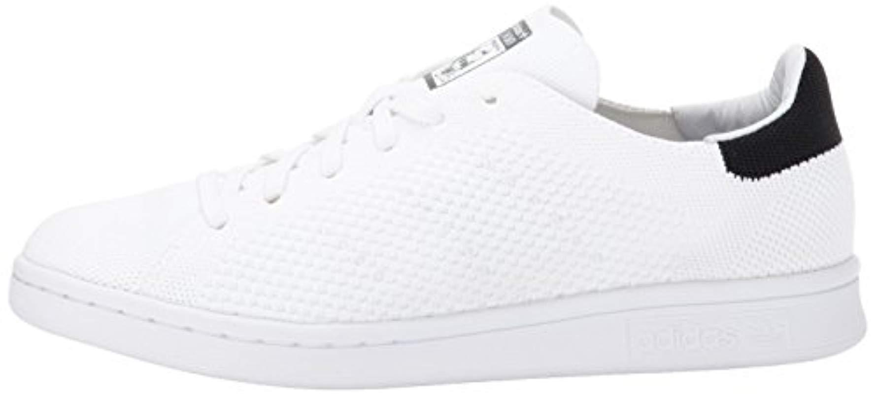 Inolvidable paralelo ligero  adidas Originals Stan Smith Og Pk Fashion Running Shoe in White/White/Black  (White) - Lyst