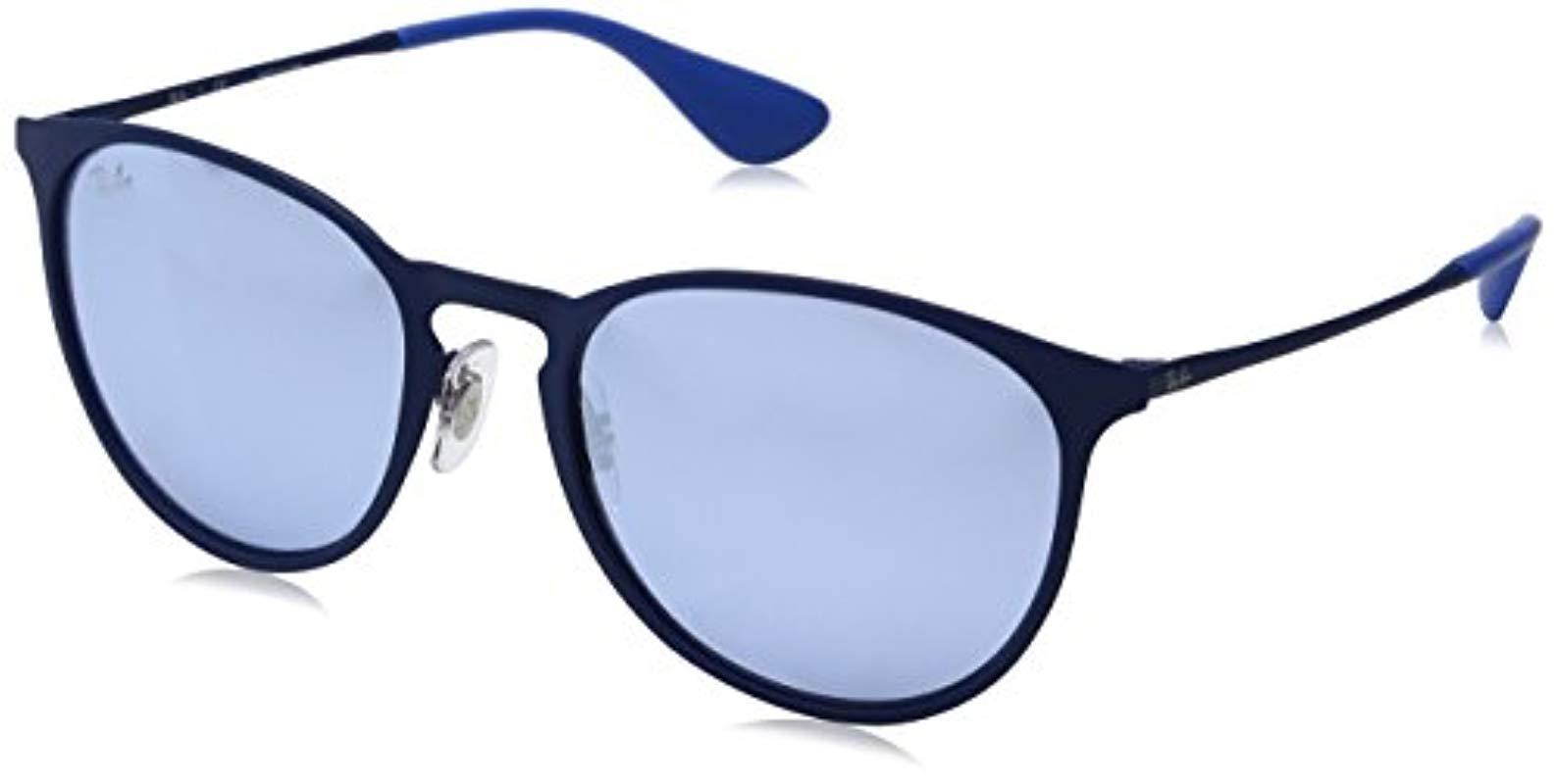38b2b424cde9a1 Lyst - Ray-Ban Erika Metal Non-polarized Sunglasses (rb3539)