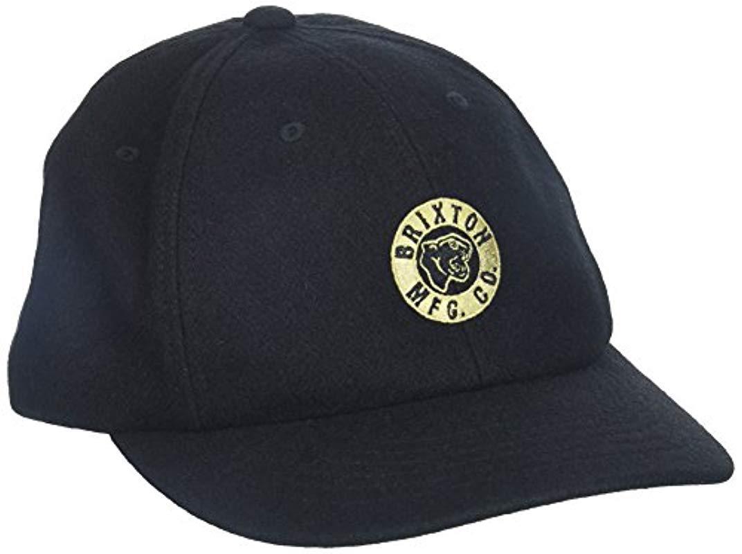 11b3fe3ad0c Lyst - Brixton Prowler Medium Profile Cap in Black for Men - Save 22%