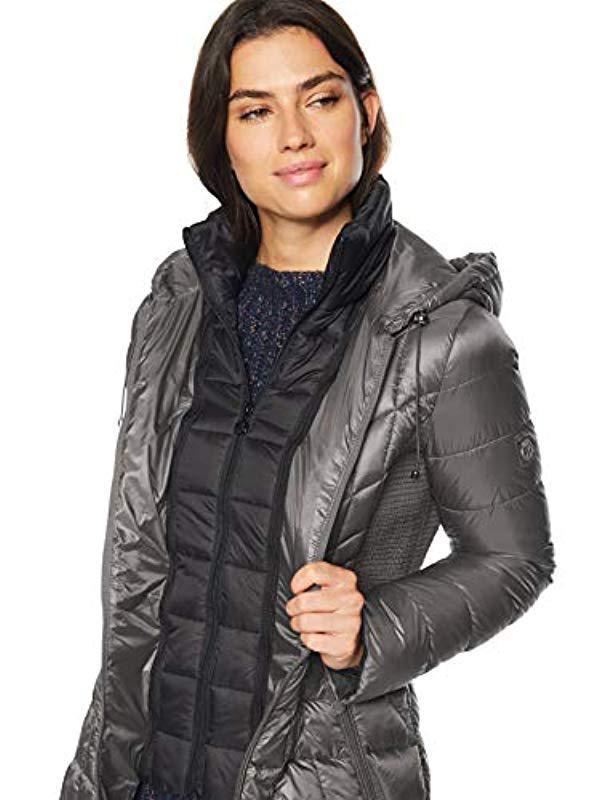 e8f619269451e Bernardo - Black Glossy Nylon Primaloft Jacket