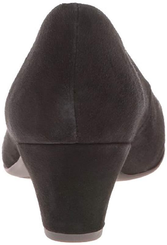 bc75392384f Mephisto - Black Paldi Dress Pump - Lyst. View fullscreen