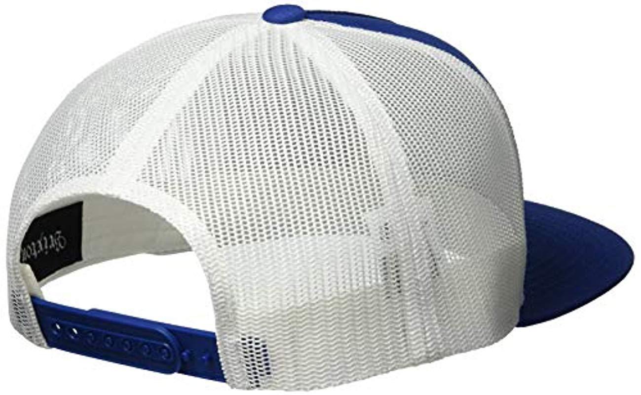 9ef84a5c17987 Brixton - Multicolor Palmer Medium Profile Adjustable Mesh Hat for Men -  Lyst. View fullscreen