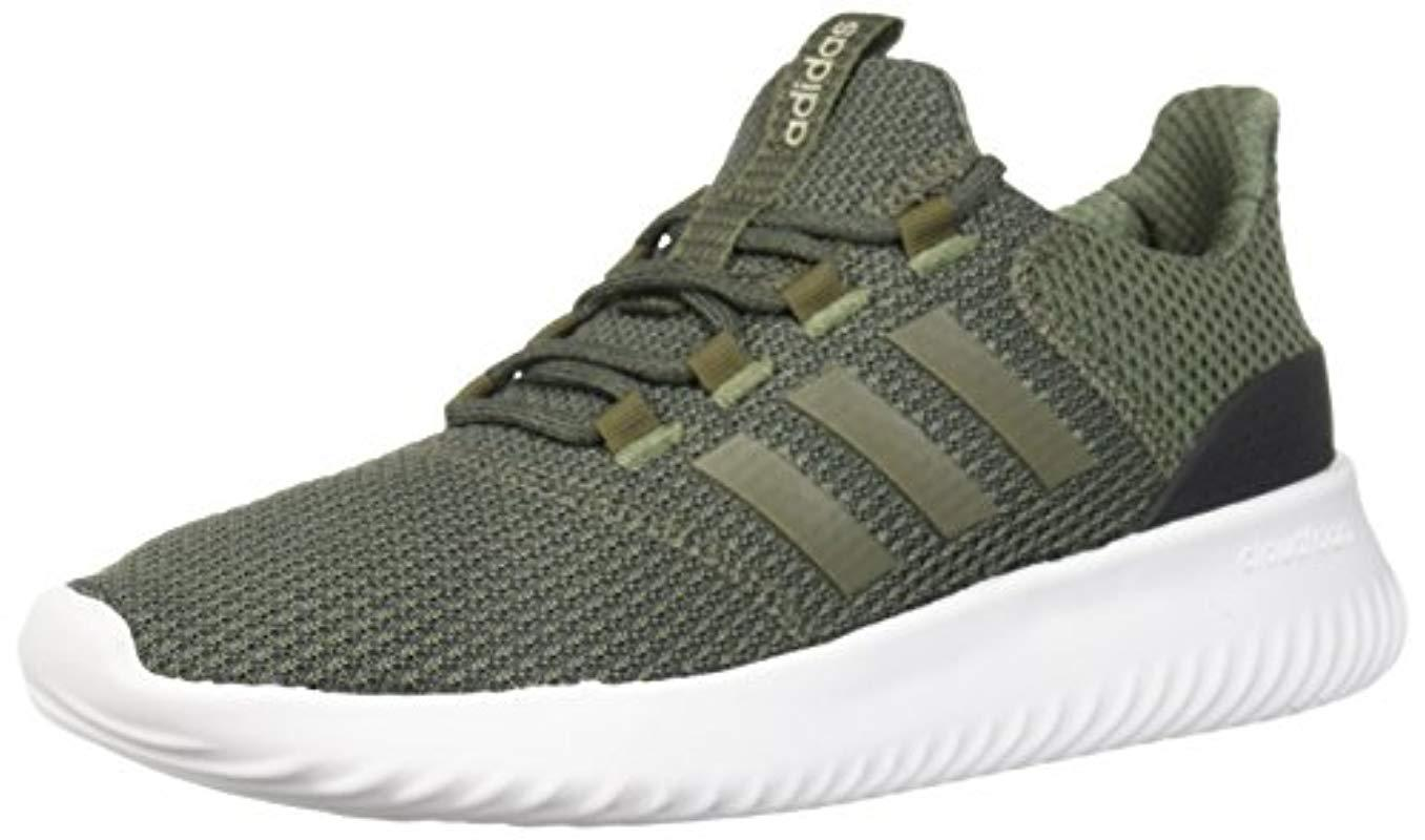 359559768 Adidas - Green Cloudfoam Ultimate Running Shoe for Men - Lyst. View  fullscreen