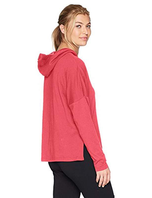 67e426cda5517a Lyst - PUMA Urban Sports Light Cover Up in Pink