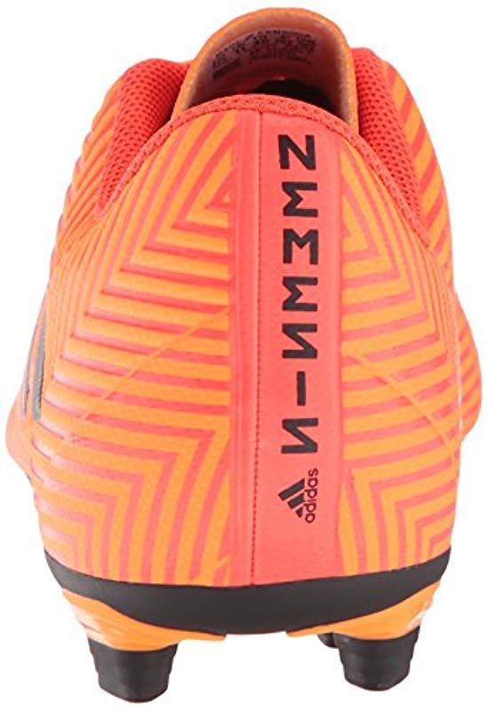 a7f735acb Adidas - Orange Nemeziz 18.4 Firm Ground Soccer Shoe for Men - Lyst. View  fullscreen