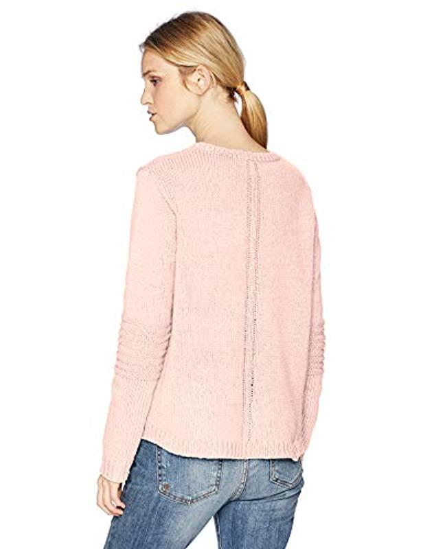 c3f678af6 Lyst - Roxy Glimpse Of Romance Sweater in Pink - Save 38%