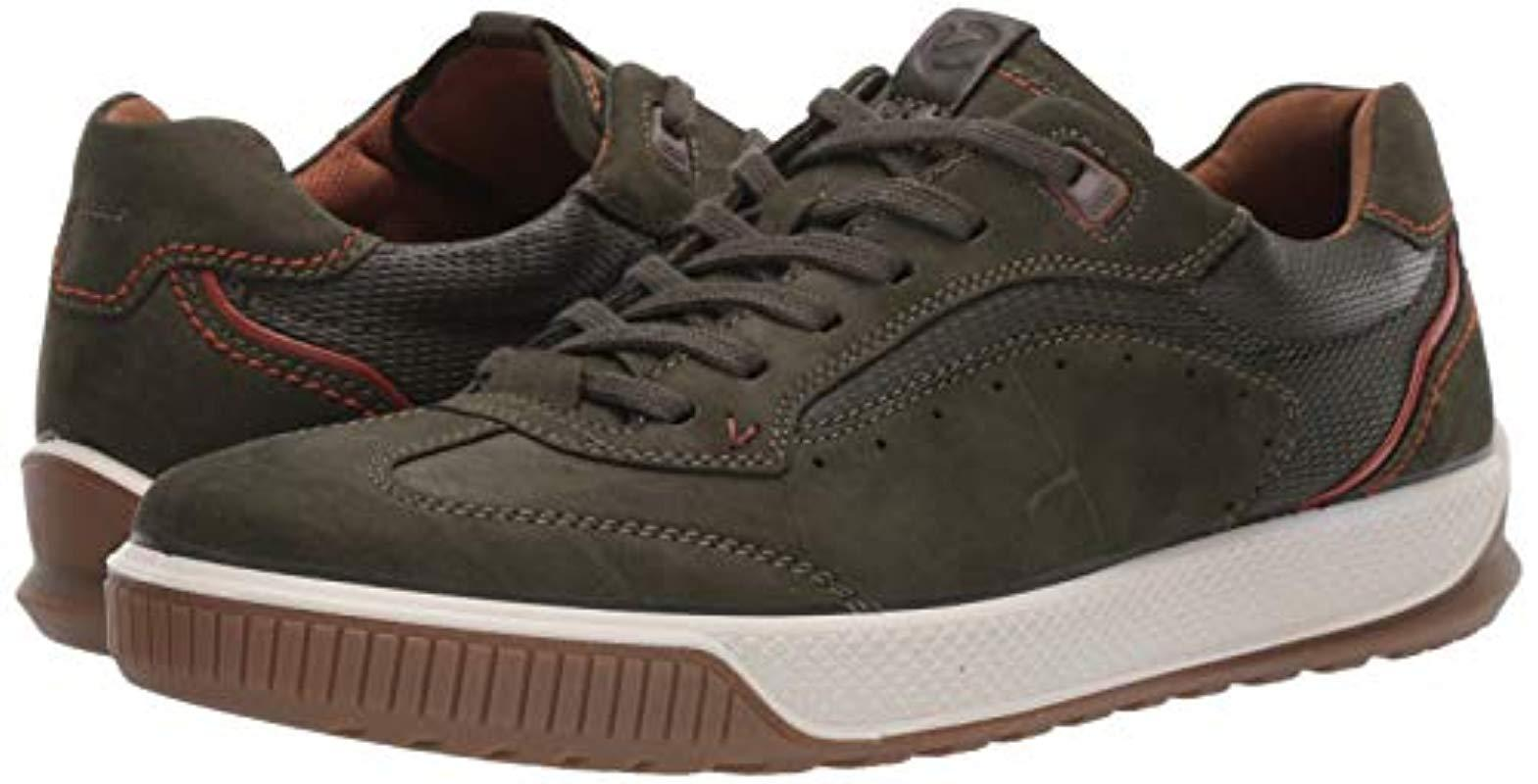 Ecco Leather Byway Tred Urban Sneaker