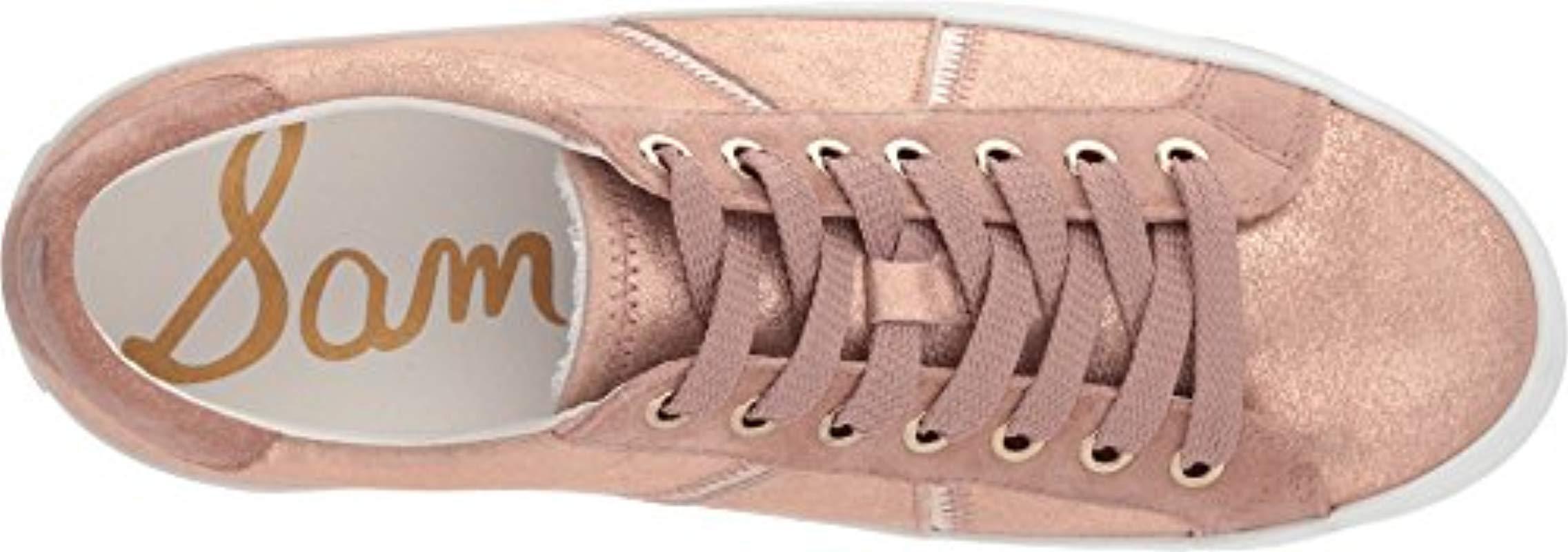 9cda7bddad5abd Sam Edelman - Pink Baylee Sneaker - Lyst. View fullscreen